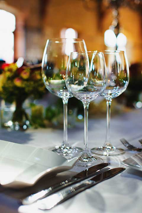 Restaurant Feste und Feiern Mönchgut